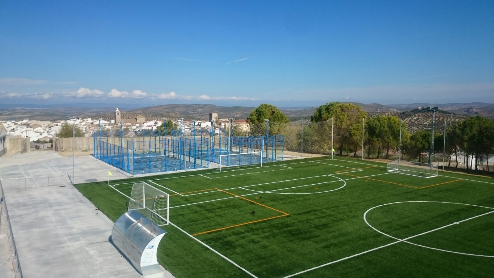 Vista Polideportivo